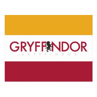Harry Potter | Gryffindor House Pride Crest Postcard