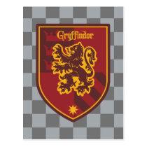 Harry Potter   Gryffindor House Pride Crest Postcard