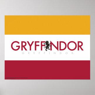 Harry Potter | Gryffindor House Pride Crest Poster