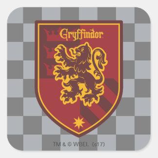Harry Potter | Gryffindor House Pride Crest Square Sticker