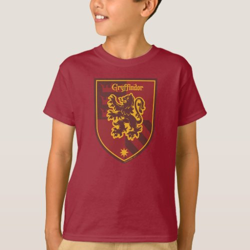 Harry Potter  Gryffindor House Pride Crest T_Shirt