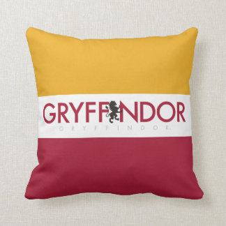 Harry Potter | Gryffindor House Pride Crest Throw Pillow