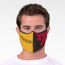Harry Potter | Gryffindor House Pride Graphic Premium Face Mask