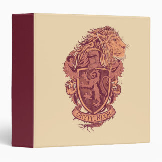 Harry Potter | Gryffindor Lion Crest Binder