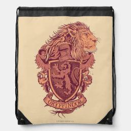 Harry Potter | Gryffindor Lion Crest Drawstring Backpack