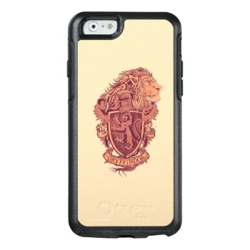 Harry Potter | Gryffindor Lion Crest Otterbox Iphone 6/6s Case by harrypotter at Zazzle