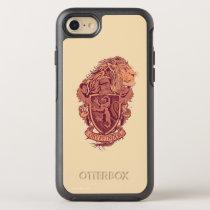 Harry Potter   Gryffindor Lion Crest OtterBox Symmetry iPhone 8/7 Case
