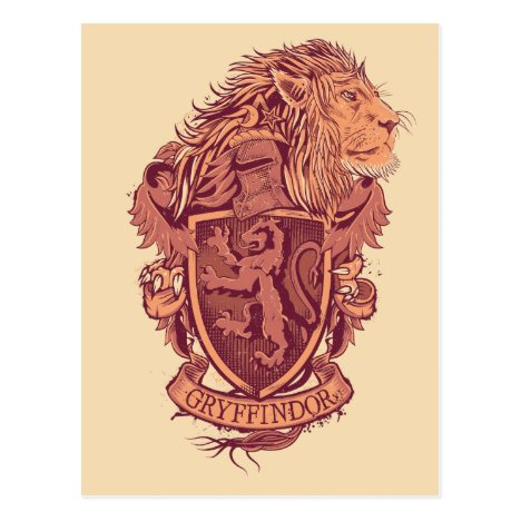 Harry Potter | Gryffindor Lion Crest