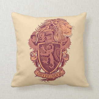 Harry Potter | Gryffindor Lion Crest Throw Pillow