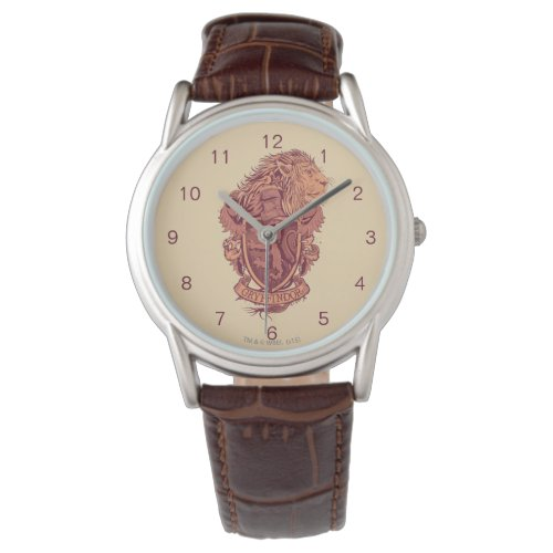 Harry Potter | Gryffindor Lion Crest Watch