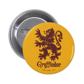Harry Potter | Gryffindor Lion Graphic Button