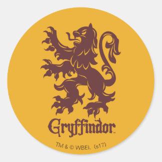 Harry Potter | Gryffindor Lion Graphic Classic Round Sticker