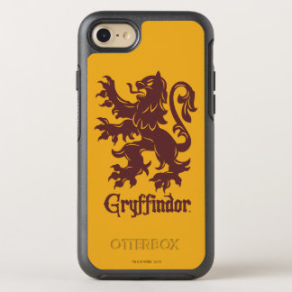 Harry Potter | Gryffindor Lion Graphic OtterBox Symmetry iPhone 8/7 Case