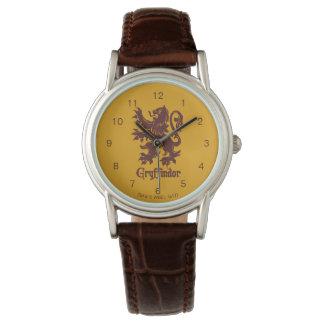 Harry Potter | Gryffindor Lion Graphic Wristwatch