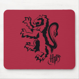Harry Potter | Gryffindor Lion Icon Mouse Pad