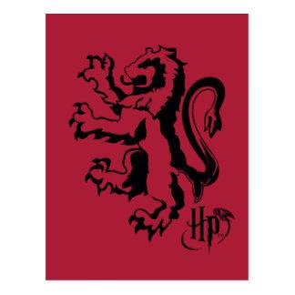 Harry Potter | Gryffindor Lion Icon Postcard