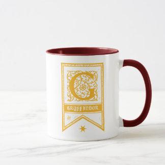 Harry Potter | Gryffindor Monogram Banner Mug