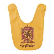Harry Potter | Gryffindor QUIDDITCH™  Badge Baby Bib