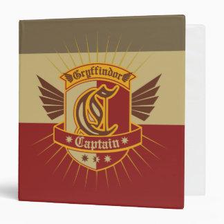 Harry Potter | Gryffindor QUIDDITCH� Captain Emble Binder