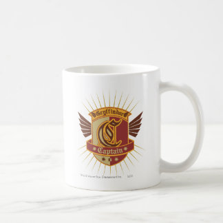 Harry Potter | Gryffindor QUIDDITCH� Captain Emble Coffee Mug