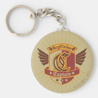 Harry Potter | Gryffindor QUIDDITCH� Captain Emble Keychain