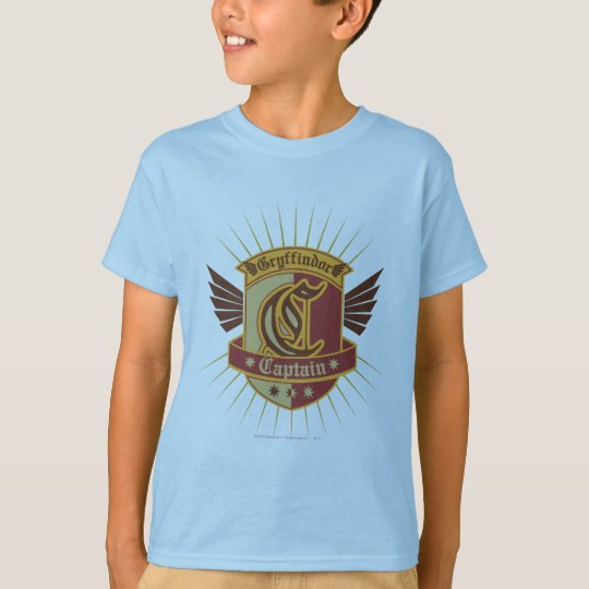 Harry Potter | Gryffindor QUIDDITCH™  Captain Logo T-Shirt