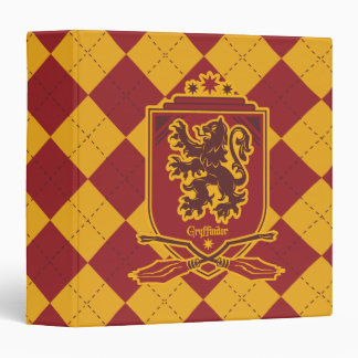 Harry Potter | Gryffindor QUIDDITCH™  Crest Binder
