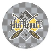 Harry Potter   Gryffindor QUIDDITCH™ Crest Classic Round Sticker