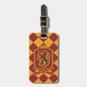 b394ad489037 Harry Potter | Gryffindor QUIDDITCH™ Crest Luggage Tag