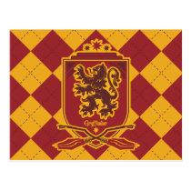 Harry Potter   Gryffindor QUIDDITCH™  Crest Postcard