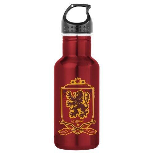 Harry Potter   Gryffindor QUIDDITCH™  Crest Stainless Steel Water Bottle