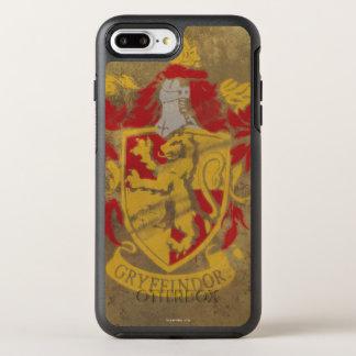 Harry Potter | Gryffindor - Retro House Crest OtterBox Symmetry iPhone 8 Plus/7 Plus Case