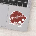Harry Potter | GRYFFINDOR™ Silhouette Typography Sticker