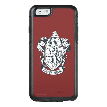 Harry Potter | Gryffindor Stencil Sketch Otterbox Iphone 6/6s Case by harrypotter at Zazzle
