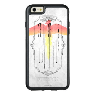 Harry Potter   Harry's Wand Infographic OtterBox iPhone 6/6s Plus Case