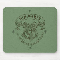 Harry Potter   Hogwarts Banner Crest Mouse Pad