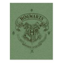 Harry Potter   Hogwarts Banner Crest Postcard