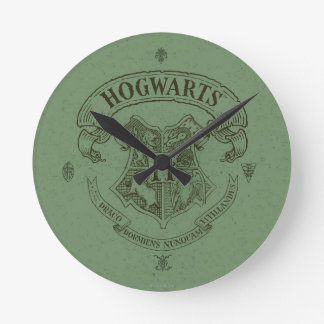 Harry Potter | Hogwarts Banner Crest Round Clock