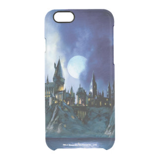 Harry Potter | Hogwarts By Moonlight Clear iPhone 6/6S Case
