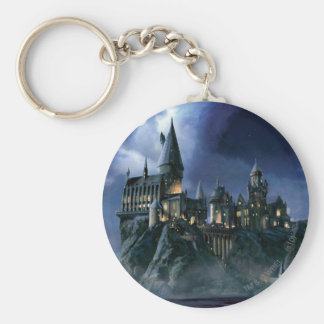 Harry Potter   Hogwarts Castle at Night Keychain
