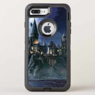 Harry Potter | Hogwarts Castle at Night OtterBox Defender iPhone 7 Plus Case