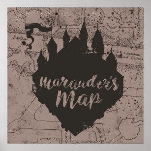 Marauders Map Art & Wall Décor   Zazzle
