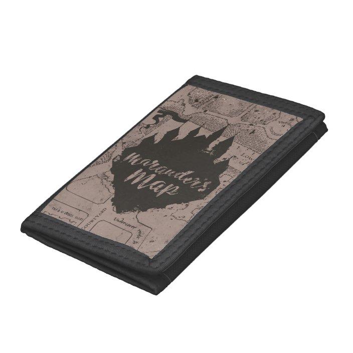 Harry Potter Marauders Map Tri-Fold Wallet