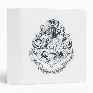 Harry Potter | Hogwarts Crest - Black and White Binder
