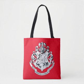 Harry Potter | Hogwarts Crest - Black and White Tote Bag