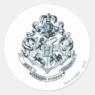 Harry Potter | Hogwarts Crest Blue Classic Round Sticker