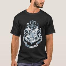 Harry Potter | Hogwarts Crest Blue T-shirt at Zazzle