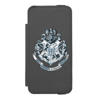 Harry Potter | Hogwarts Crest - Blue Wallet Case For iPhone SE/5/5s