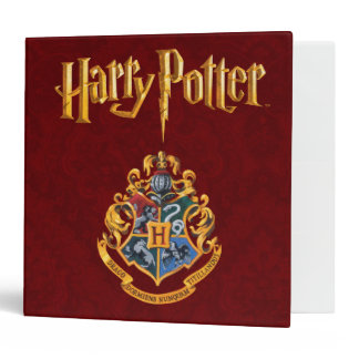 Harry Potter | Hogwarts Crest - Full Color Binder