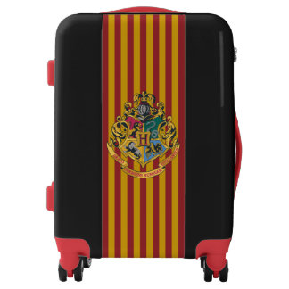 Harry Potter   Hogwarts Crest - Full Color Luggage